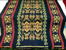 Indonesia authentic Jepara Troso woven fabric textile fabric CSM