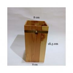 Wooden Desk Decor and Organizer-18 cm-Handicraft